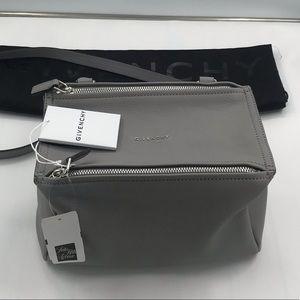 Givenchy Pandora Grey Shoulder Bag NWT